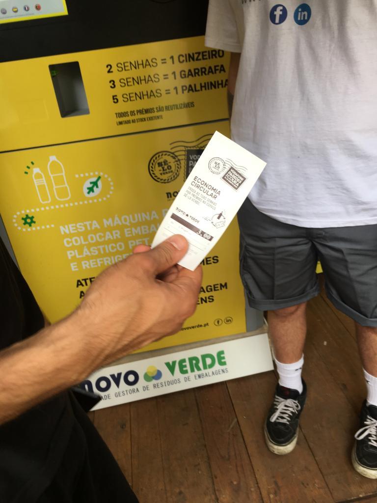 Novo Verde recolhe mais de 13 mil embalagens no Festival Paredes de Coura