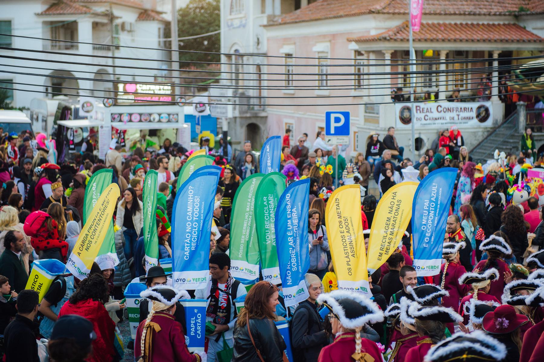 Novo Verde recolhe 6500 embalagens no Carnaval de Torres Vedras