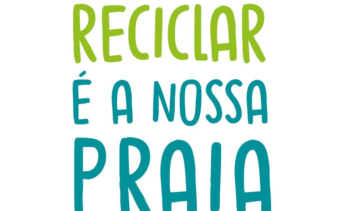 """""""Reciclar é a nossa Praia"""" chega a mais de 3200 pessoas"""