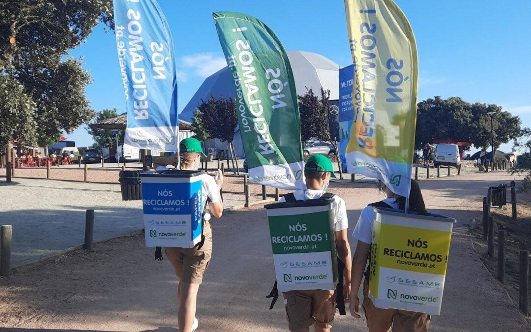 Ecopontos Humanos da Novo Verde promovem a reciclagem em Reguengos de Monsaraz